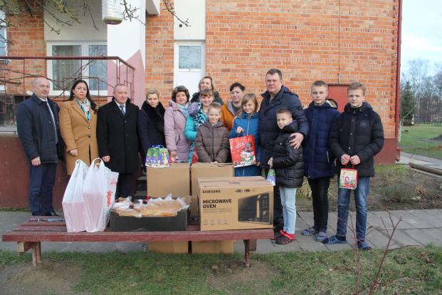 Акция «Наши дети» прошла в Кобринской детской деревне
